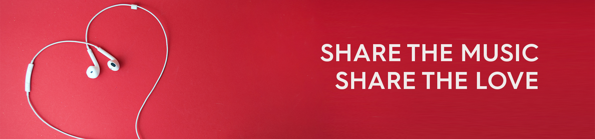 Share the music. Share the love.